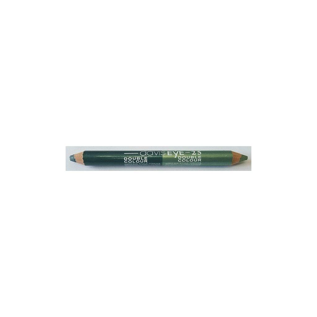 Oční stíny tužkové DUO Tm. Zelená - Sv. Zelená