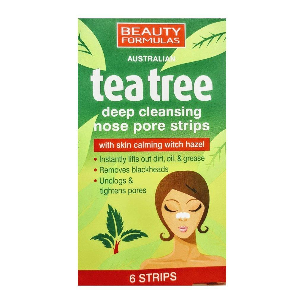 TEA TREE pásky na nos