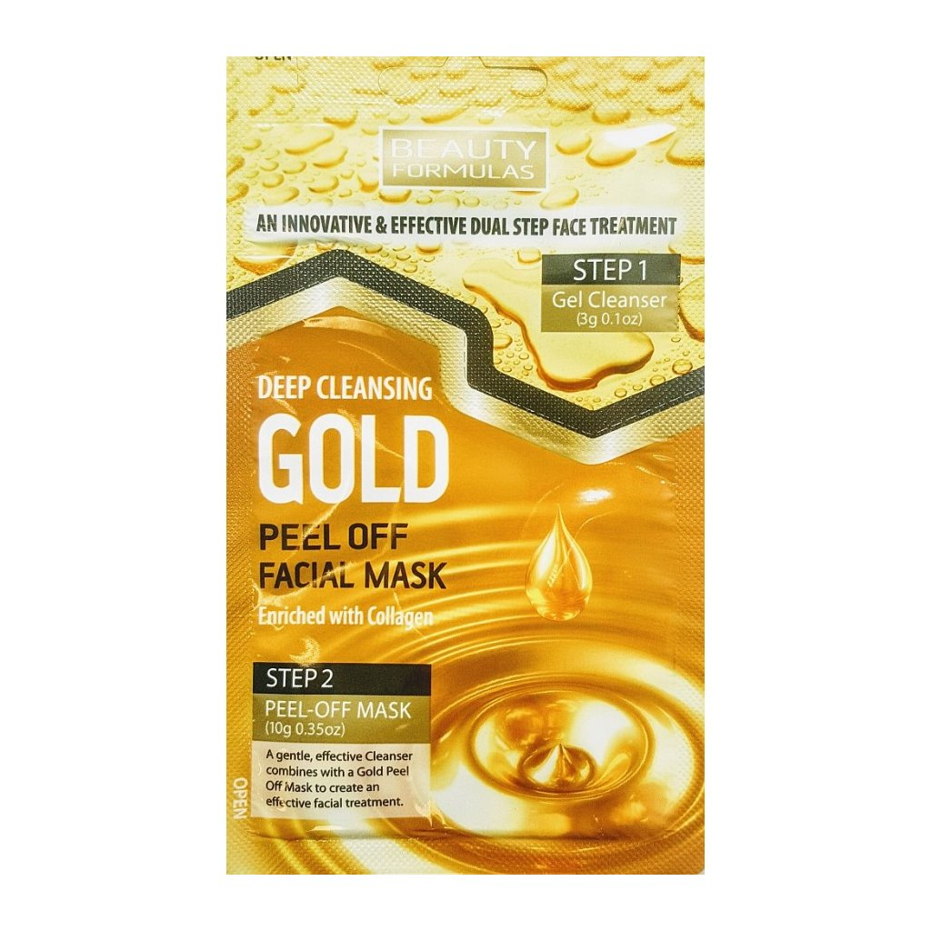 GOLD maska slupovací detoxikační