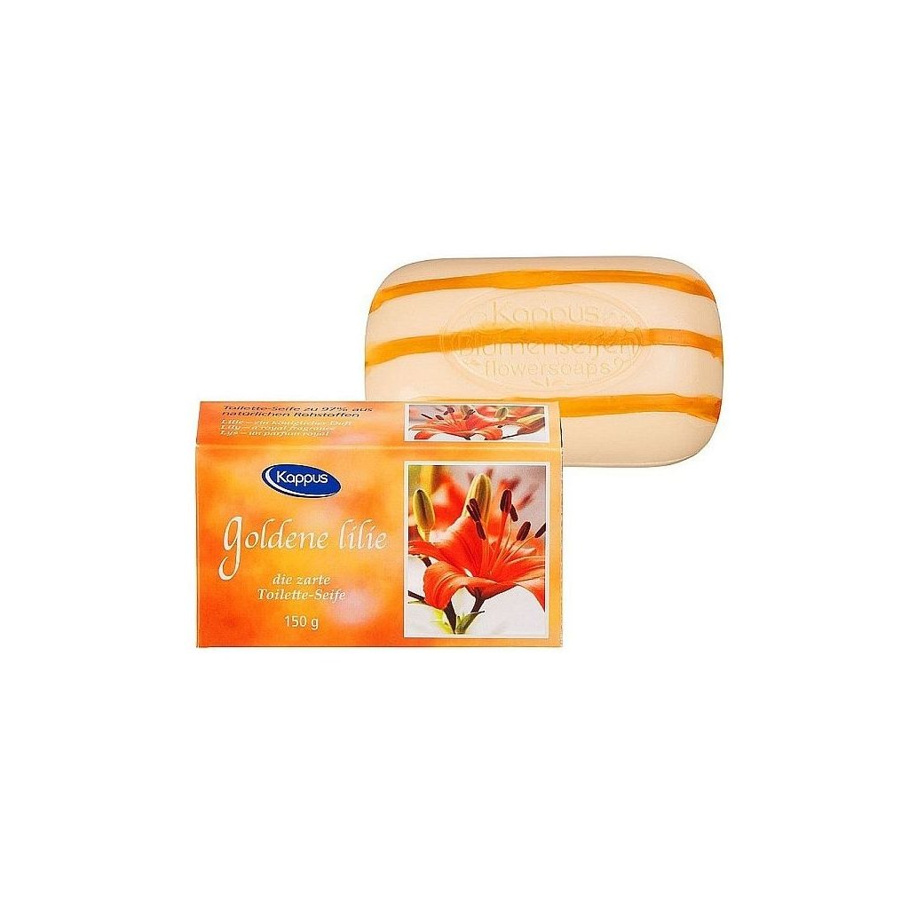 Toaletní mýdlo KAPPUS 150g 3-0052 Lilie