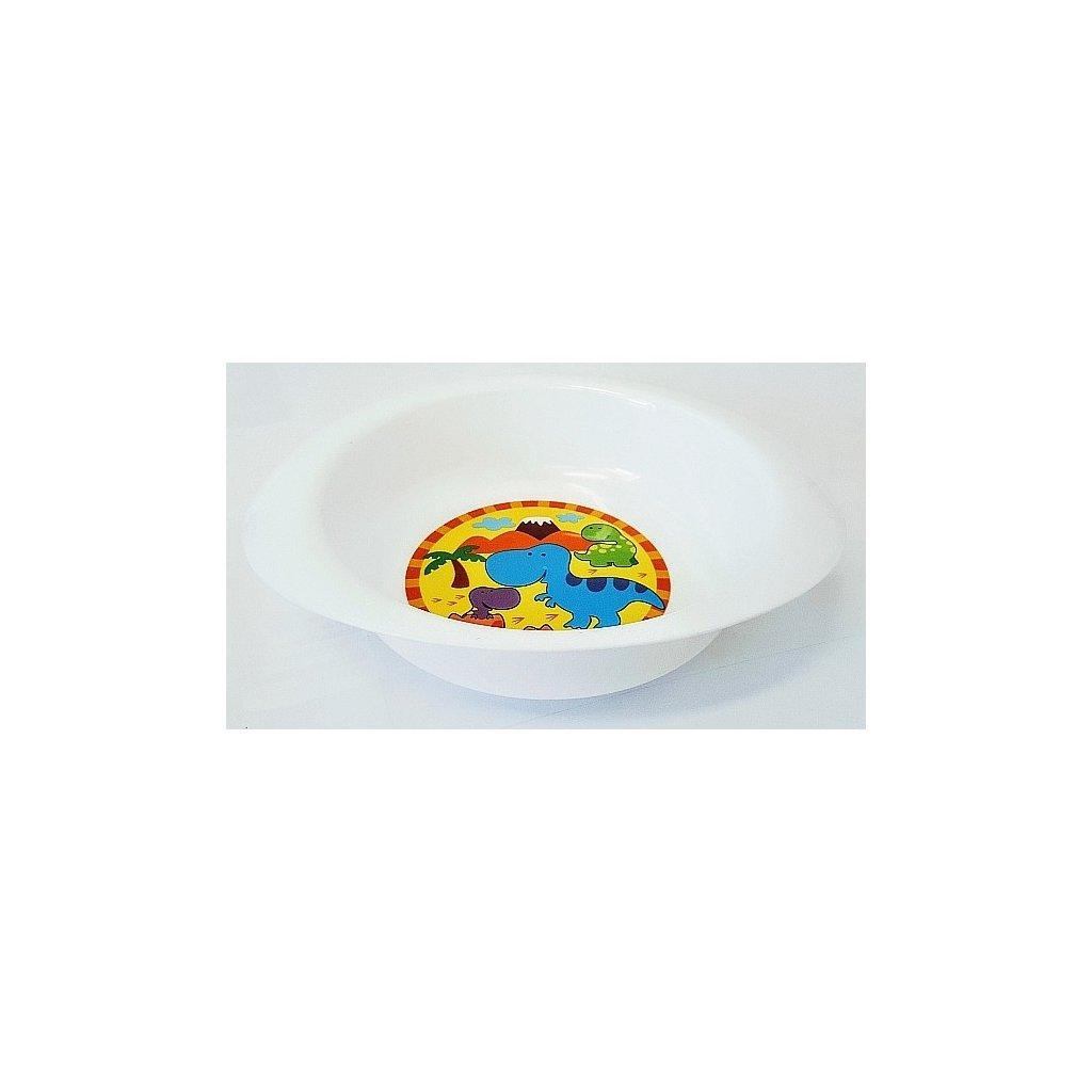 Miska jídelní Jednorožec/Dinosaurus
