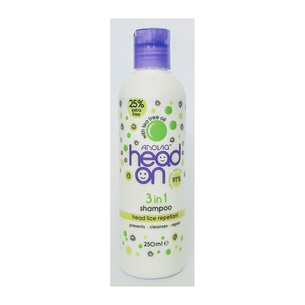 ANOVIA 3v1 šampon proti vším s TEA TREE