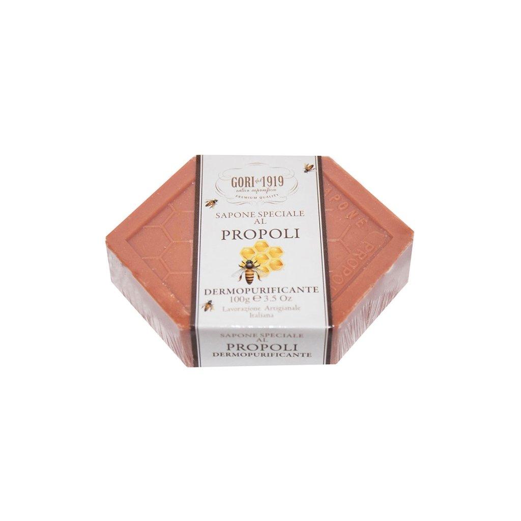 Medové mýdlo Propoli 100g