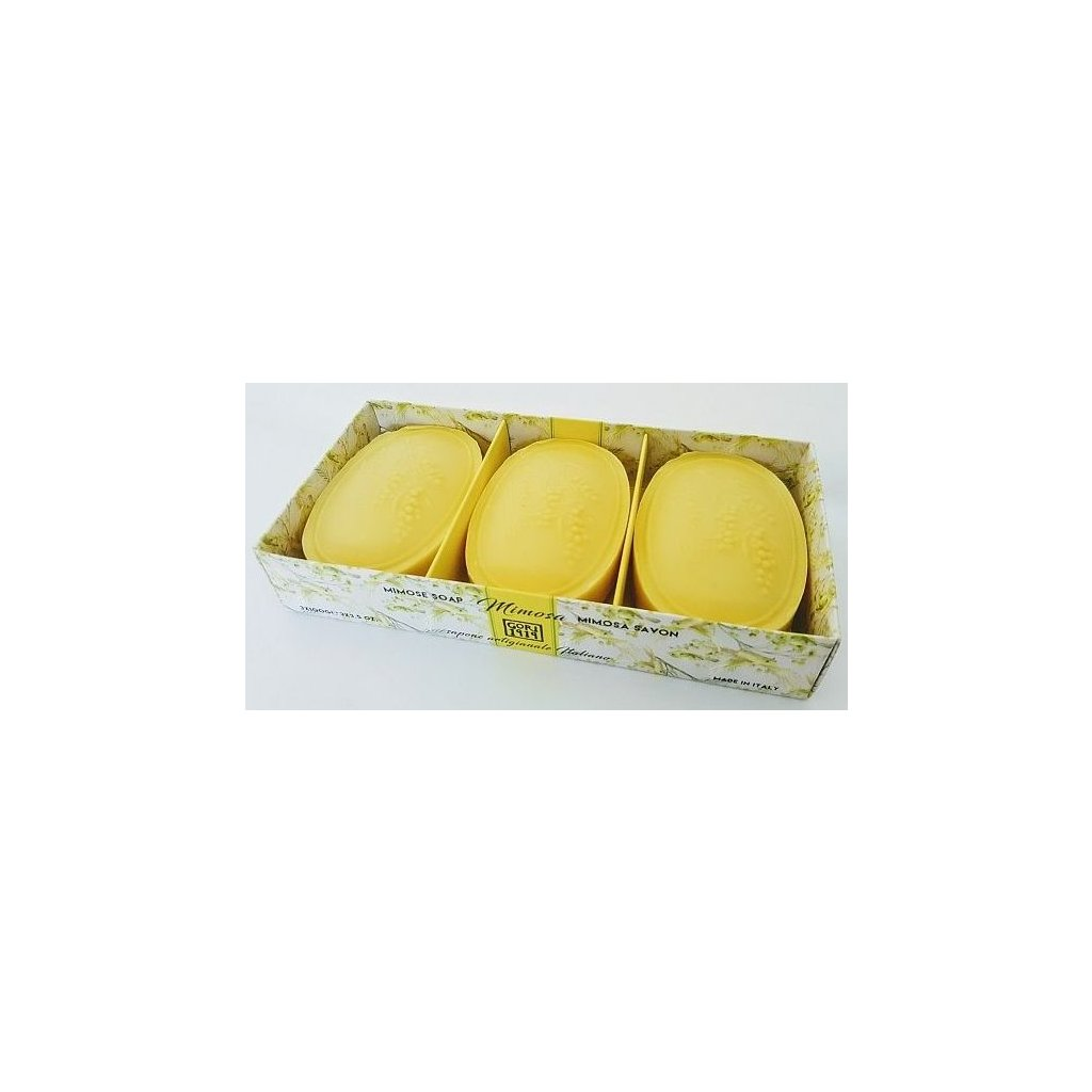 Mýdlová kazeta Mimosa 3x100g GORI