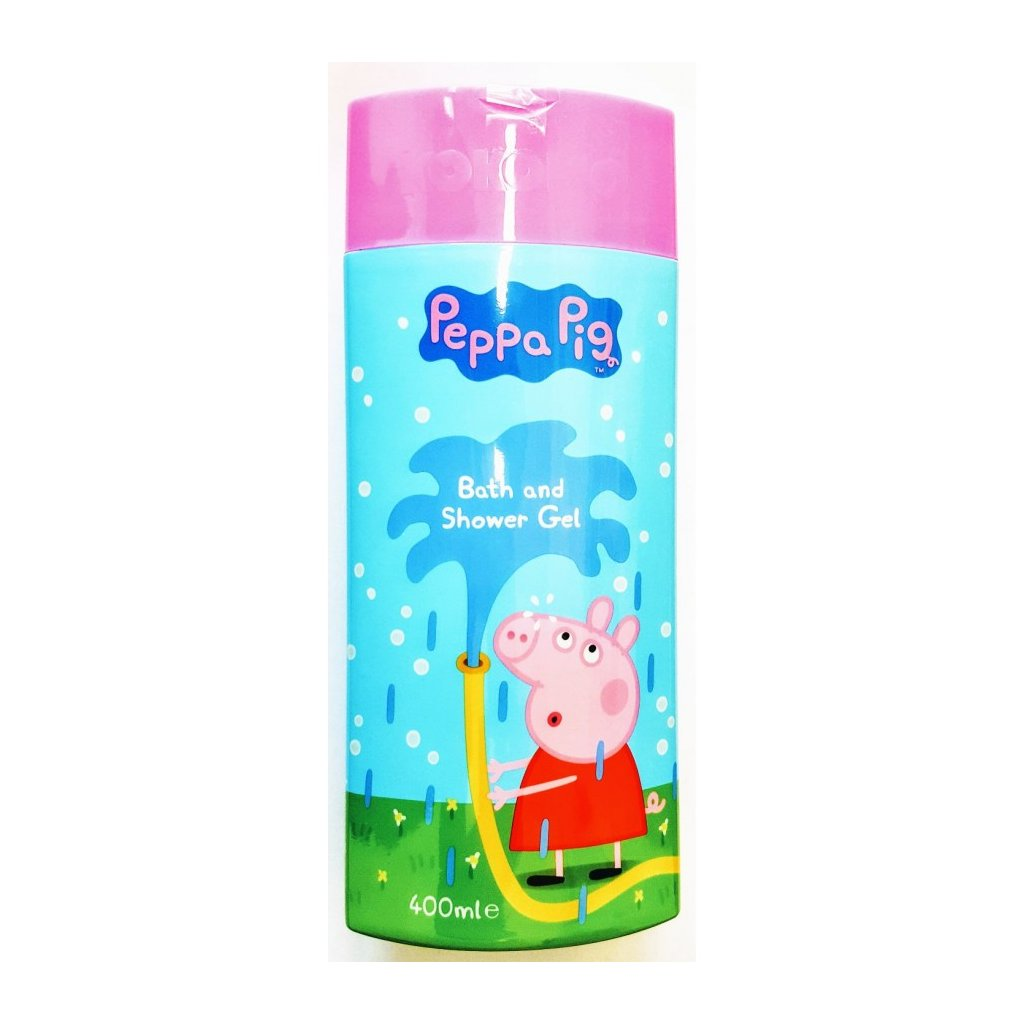 Sprchový gel a pěna 400ml PEPPA PIG