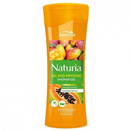 Sprchový gel MANGO a PAPAYA NATURIA 300ml