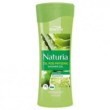 Sprchový gel ALOE VERA a LIMETKA NATURIA 300ml
