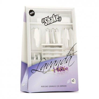 SHAKE vonné sáčky Lavender 3 ks