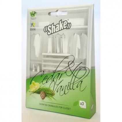 SHAKE vonné sáčky Cedar&Vanilla 3 ks