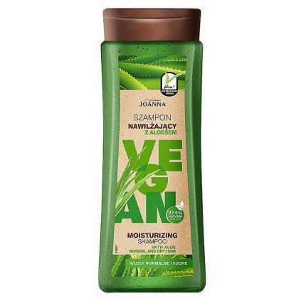 vegan szampon nawilzajacy z aloesem 300ml