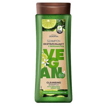 vegan szampon oczyszczajacy z bergamotka 300ml