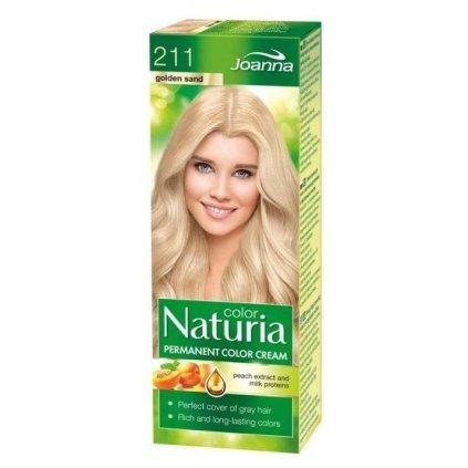 211 - Barva na vlasy NATURIA COLOR - ZLATÝ PÍSEK