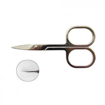 Nůžky na nehty LUX zahnuté