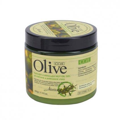 Olivová maska na vlasy 500g