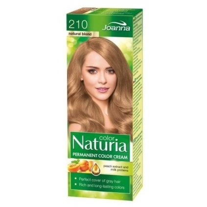 210 - Barva na vlasy NATURIA COLOR PŘÍRODNÍ BLOND