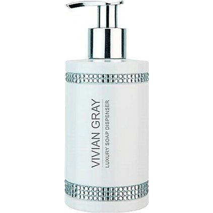 Vivian Gray luxusní tekuté mýdlo CRYSTALS WHITE 250ml