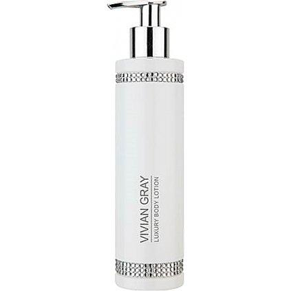 Luxusní tělové mléko Vivian Gray Crystals White, 250ml