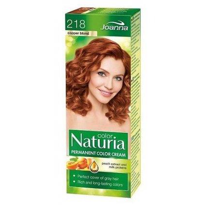 218 - Barva na vlasy NATURIA COLOR - MĚDĚNÁ BLOND