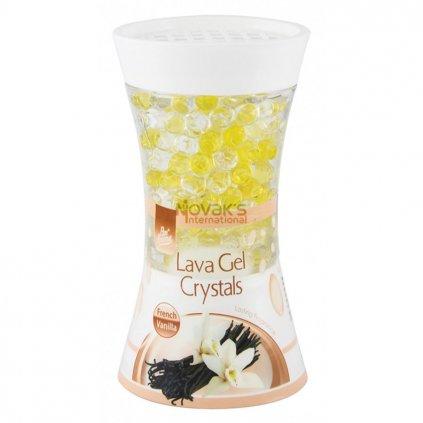 Pan Aroma Lava gel Crystal osvěžovač vzduchu Vanilka 150g