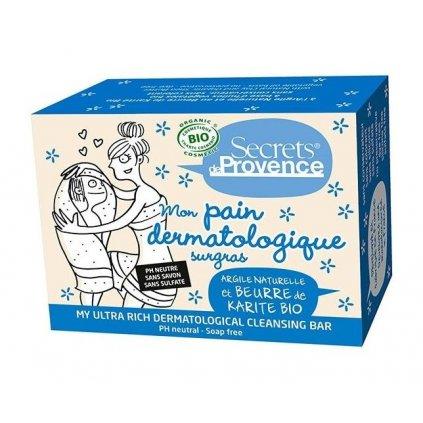 Tuhé BIO dermatologické mýdlo z Provence