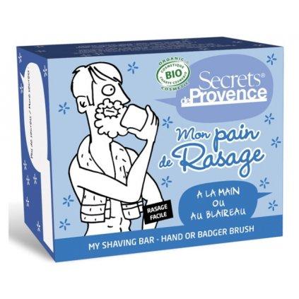 Tuhé mýdlo na holení pro Muže z Provence