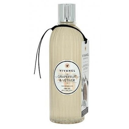 Sprchový gel VIVANEL Grapefruit a Vetiver, 300ml