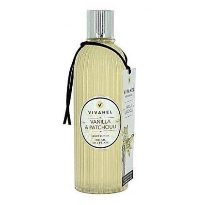 Sprchový gel VIVANEL Vanilka a Patchouli, 300ml