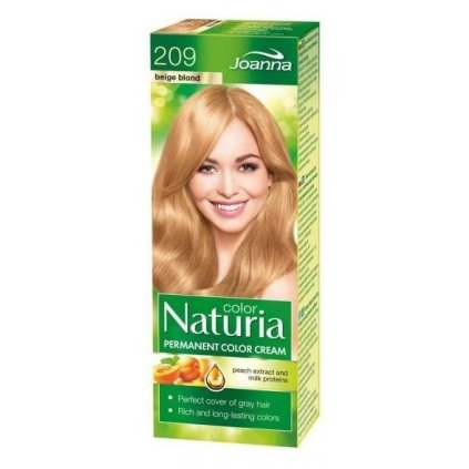 Naturia color č.209-Béžový blond