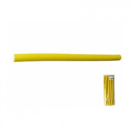 Natáčky Papiloty gumové prů.10mm-hladké (10ks)