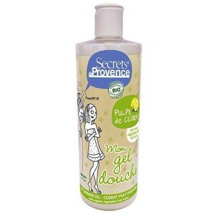 BIO Sprchový gel a Pěna do koupele Dužina z citronu, 500ml