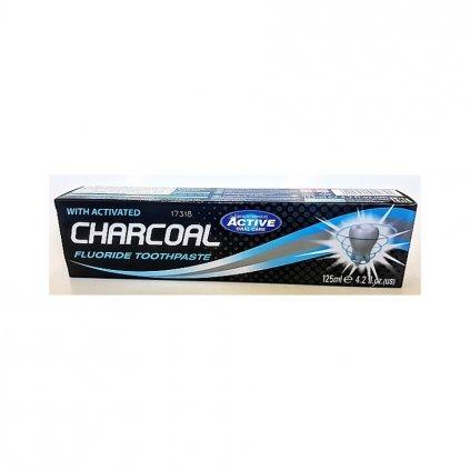 Zubní pasta s Aktivním uhlím Charcoal, 125ml