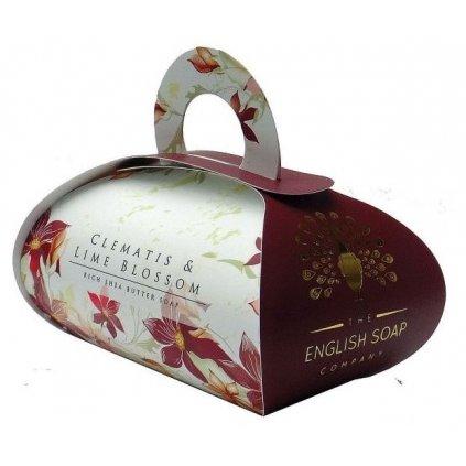 Anglické mýdlo Clematis, 260g
