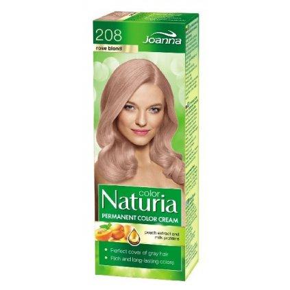208 - Barva na vlasy NATURIA COLOR - Růžový blond