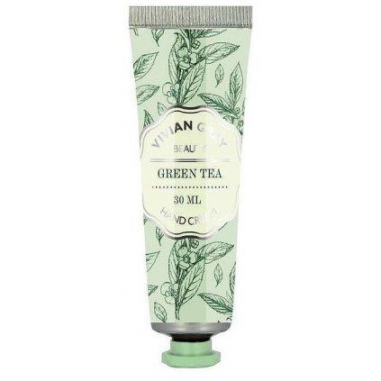 Krém na ruce Green Tea Vivian Gray Zelený čaj, 30ml