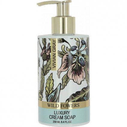 Krémové mýdlo Wild Flowers, 250ml