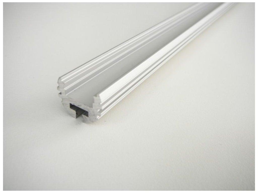 LED profil K - kruhový, 1 metr