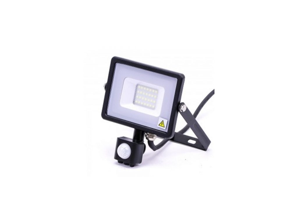 pro cierny led reflektor 20w senzor samsung 450x450