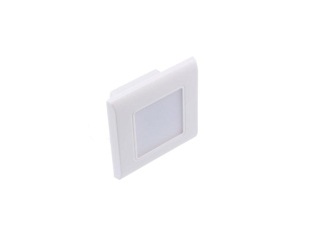 LED vestavné svítidlo, BÍLÁ, 0,6W
