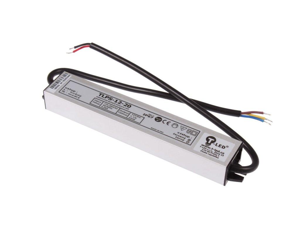 LED zdroj 12V/20W IP67