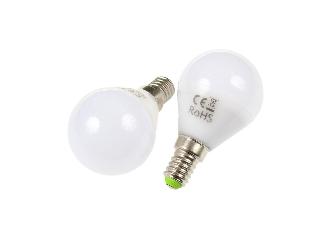 LED žárovka E14, 5W