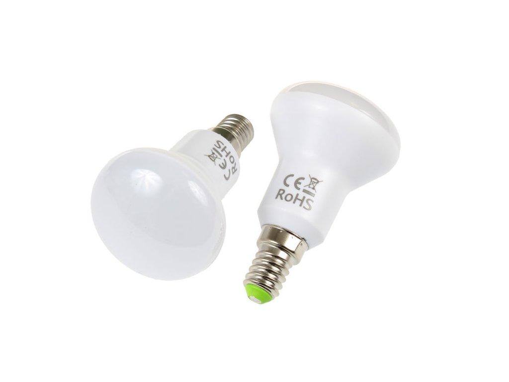 LED žárovka E14, 5W, ovál
