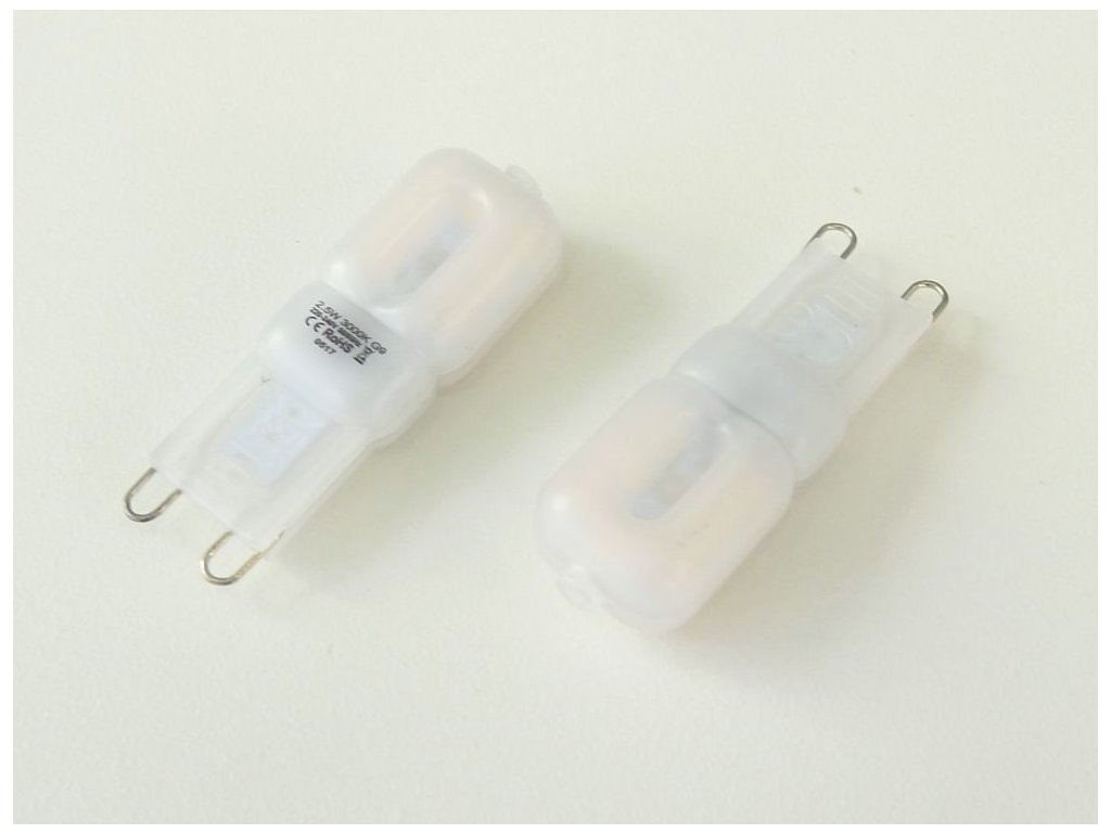 LED žárovka G9, 2,5W