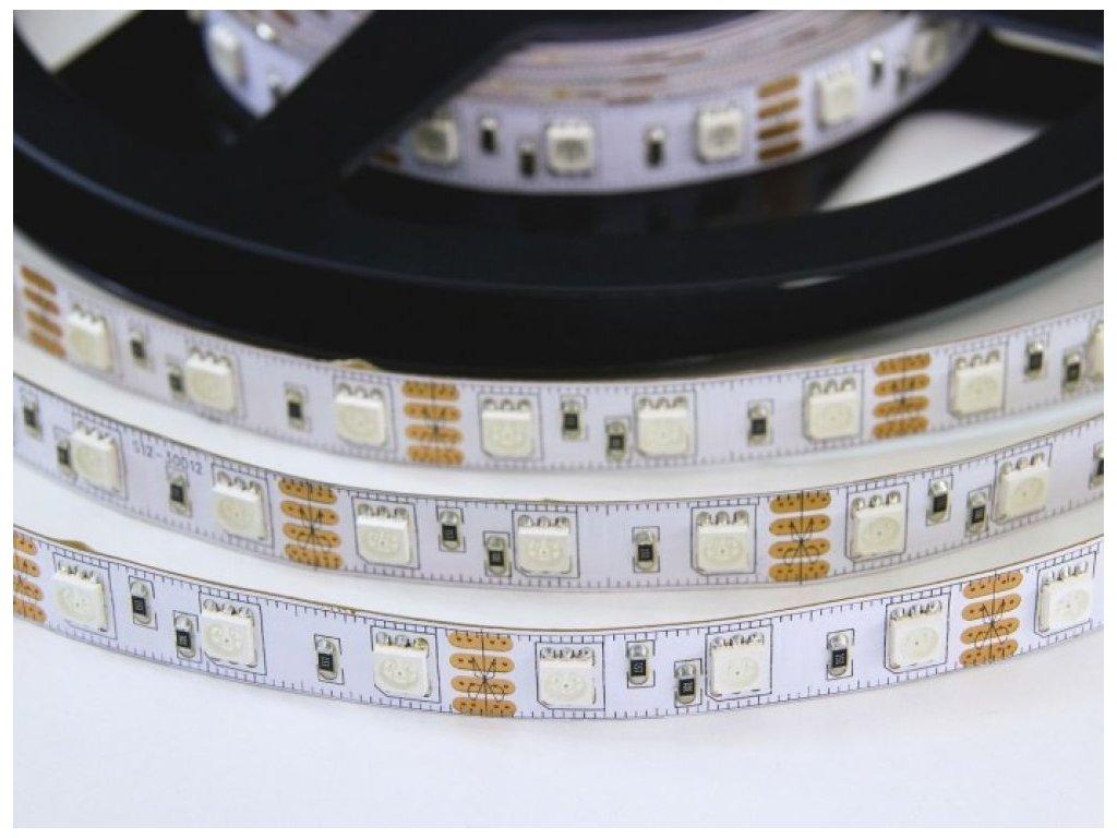 RGB LED pásek 12V/14,4W, vnitřní, 1 metr