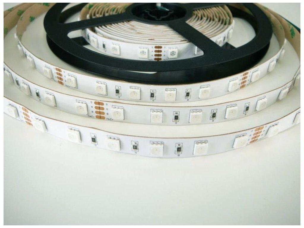 RGB LED pásek 24V/14,4W, vnitřní, 1 metr