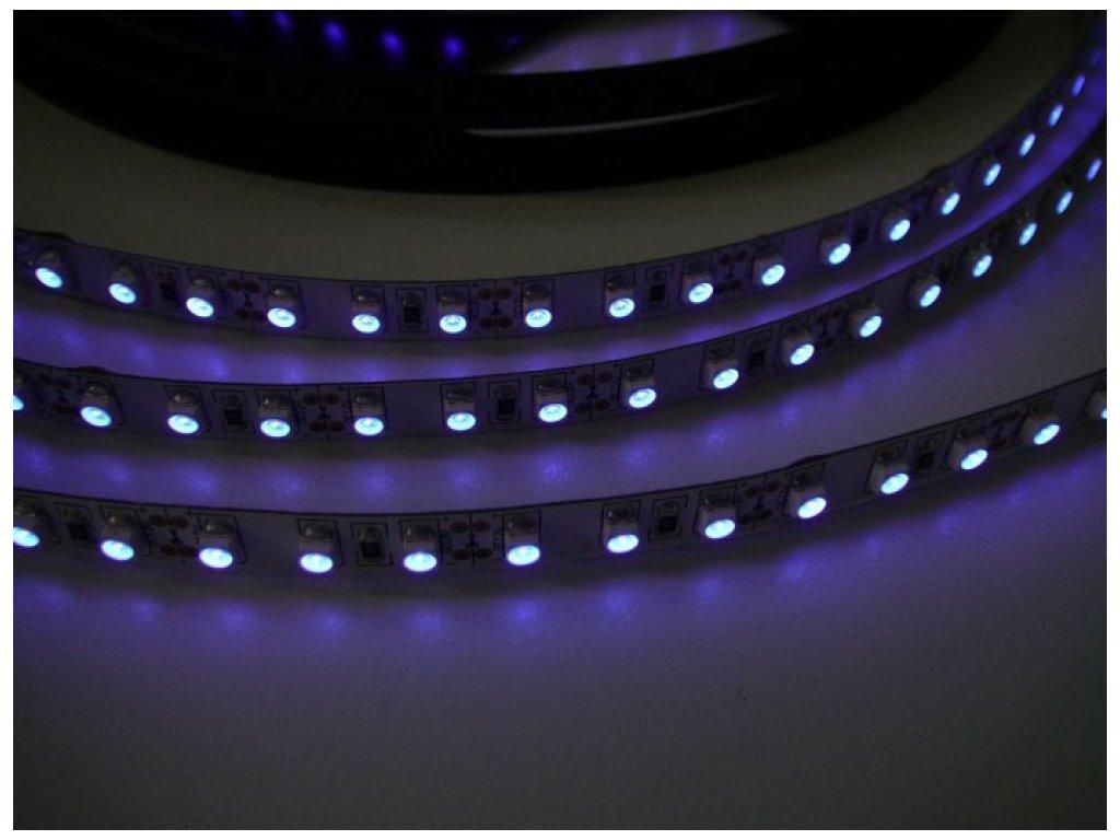UV LED pásek 12V/9,6W, 1 metr