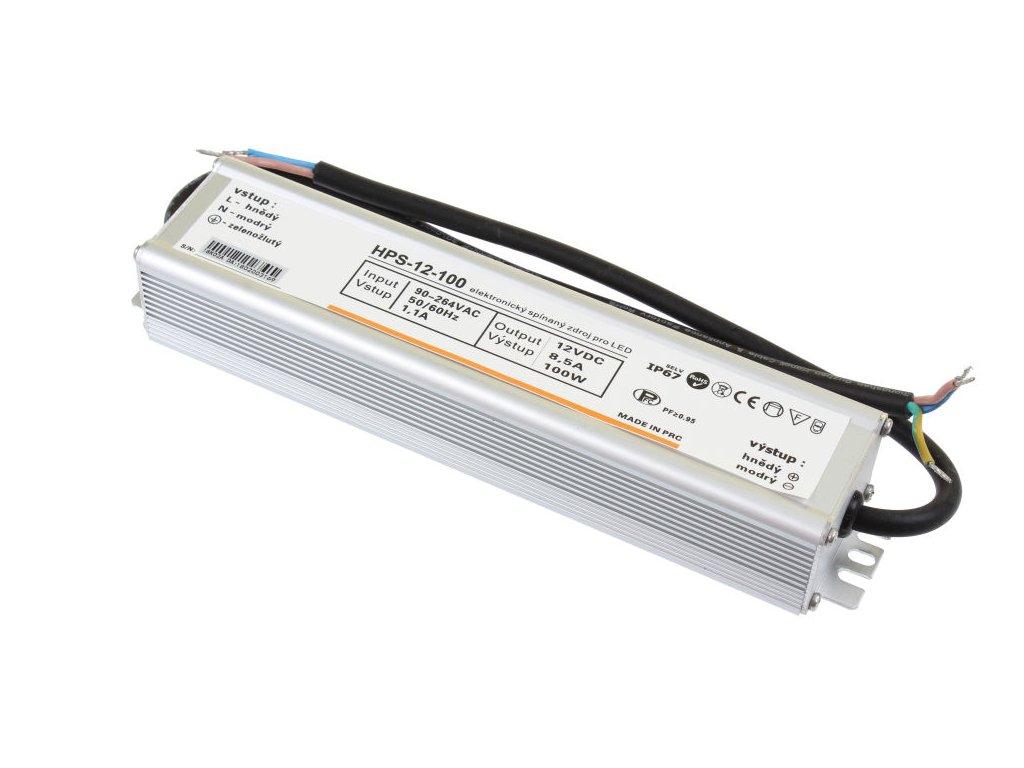 LED zdroj HS 12V/100W, IP65