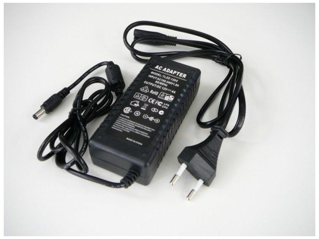 LED zdroj 12V/48W zásuvkový
