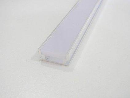 LED profil pochozí HR, 1 metr s difuzorem