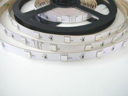 RGB LED pásek 24V/7,2W, vnitřní, 1 metr