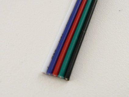 RGBW kabel 5x0,5mm, 1 metr